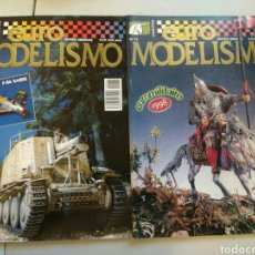 Hobbys: 2 REVISTAS EUROMODELISMO. REVISTA ESPECIALIZADA EN MODELISMO MILITAR. Lote 110609682