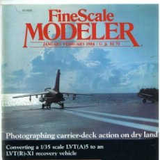 Hobbys: FINE SCALE MODELLER AÑO 1984 ENERO-FEBRERO. Lote 111466035