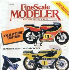 Hobbys: FINE SCALE MODELLER AÑO 1984 MAYO-JUNIO. Lote 111466967