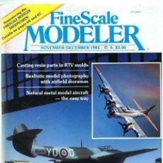 Hobbys: FINE SCALE MODELLER AÑO 1984 NOVIEMBRE-DICIEMBRE. Lote 111469403
