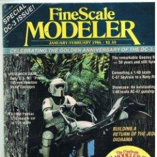 Hobbys: FINE SCALE MODELLER AÑO 1986 ENERO-FEBRERO. Lote 111469531