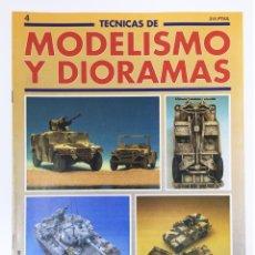 Hobbies - TECNICAS DE MODELISMO Y DIORAMAS FASCICULO NUMº 4 EDICIONES GENESIS AÑO 91 - 112571031