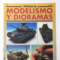 Hobbys: TECNICAS DE MODELISMO Y DIORAMAS FASCICULO NUMº 7 EDICIONES GENESIS AÑO 91. Lote 112571139