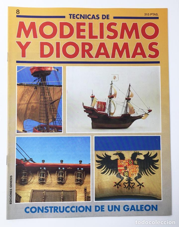TECNICAS DE MODELISMO Y DIORAMAS FASCICULO NUMº 8 EDICIONES GENESIS AÑO 91 (Juguetes - Modelismo y Radiocontrol - Revistas)