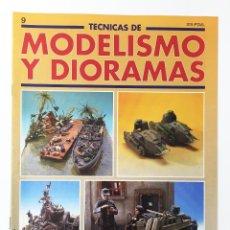 Hobbies - TECNICAS DE MODELISMO Y DIORAMAS FASCICULO NUMº 9 EDICIONES GENESIS AÑO 91 - 112571195