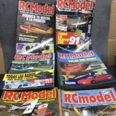 Hobbys: RC MODEL, REVISTA RADIO CONTROL Y MODELISMO , LOTE 100 EJEMPLARES. Lote 119299983