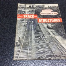 Hobbys: RAILWAY TRACK AND STRUCTURES JANUARY 1960. Lote 119302831