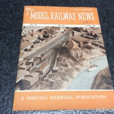 Hobbys: THE MODEL RAILWAY NEWS JUNE 1951 - MODELISMO FERROVIARIO. Lote 119326127