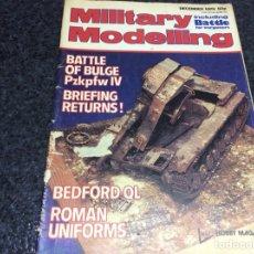 Hobbys: MILITARY MODELLING DECEMBER 1979 MODELISMO. Lote 119326559