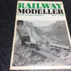 Hobbys: RAILWAY MODELLER MAY 1977 MODELISMO FERROVIARIO. Lote 119326703