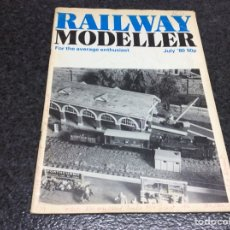 Hobbys: RAILWAY MODELLER JULI 1980 MODELISMO FERROVIARIO. Lote 119326727