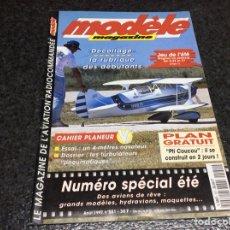 Hobbys: MODELE MAGAZINE AÑO 1997 CONTIENE PLANOS - EDICION EN FRANCES ( MODELISMO ). Lote 119327531