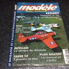 Hobbys: MODELE MAGAZINE AÑO 1998 CONTIENE PLANOS - EDICION EN FRANCES ( MODELISMO ). Lote 119327599