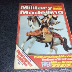 Hobbys: MILITARY MODELLING JANUARY 1982 ( MODELISMO ). Lote 119327863