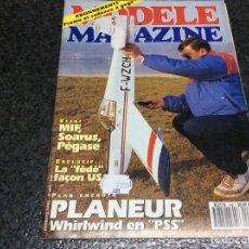 Hobbys: MODELE MAGAZINE AÑO 1992 CONTIENE PLANOS - EDICION EN FRANCES ( MODELISMO ). Lote 119328211