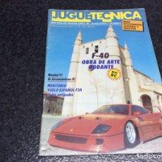 Hobbys: JUGUETECNICA Nº 39, AÑO 1992 - REVISTA DE MODELISMO, RC, MAQUETAS Y HOBBYS. Lote 119328495