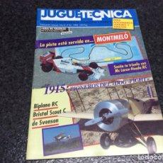 Hobbys: JUGUETECNICA Nº 35, AÑO 1992 - REVISTA DE MODELISMO, RC, MAQUETAS Y HOBBYS. Lote 119328567