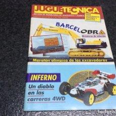 Hobbys: JUGUETECNICA Nº 40 , AÑO 1992 - REVISTA DE MODELISMO, RC, MAQUETAS Y HOBBYS. Lote 119328595