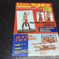 Hobbys: JUGUETECNICA Nº 37 , AÑO 1992 - REVISTA DE MODELISMO, RC, MAQUETAS Y HOBBYS. Lote 119328623