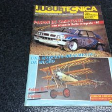 Hobbys: JUGUETECNICA Nº 36 , AÑO 1992 - REVISTA DE MODELISMO, RC, MAQUETAS Y HOBBYS. Lote 119328663