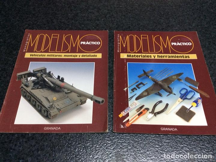 MONOGRAFIAS - MODELISMO PRACTICO - LOTE DOS REVISTAS (Juguetes - Modelismo y Radiocontrol - Revistas)