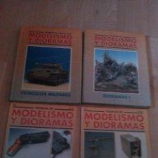 Hobbys: 2 TOMOS DE TECNICAS DE MODELISMO Y DIORAMAS Y 2 FASCICULOS. Lote 125309791