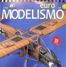Hobbys: REVISTA EURO MODELISMO 278 35 AÑOS CON EL MODELISMO. Lote 129463091
