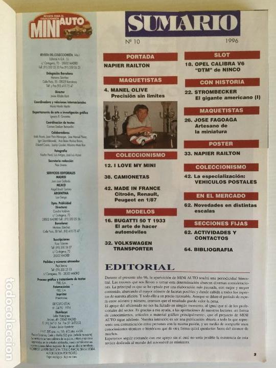 Hobbys: Colección espacial Mini Auto – 4º Volumen – Año 1996 - Foto 4 - 130190739