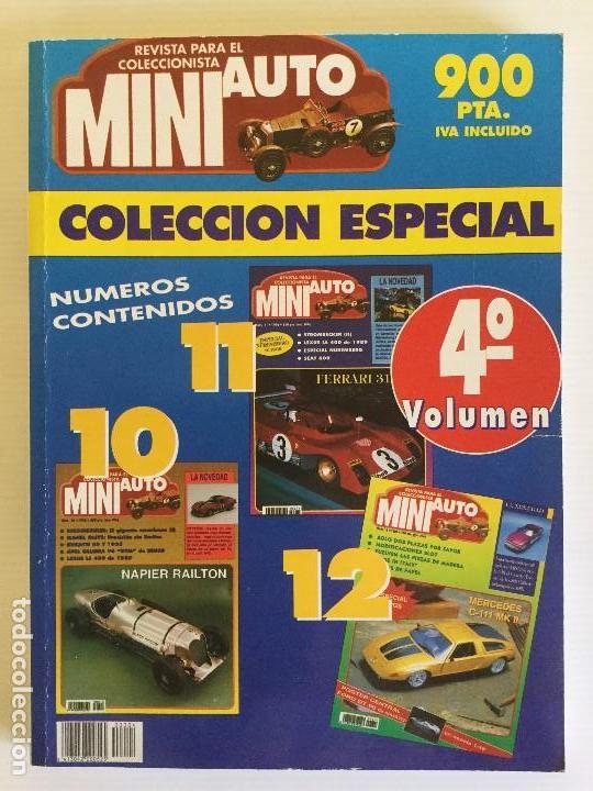 COLECCIÓN ESPACIAL MINI AUTO – 4º VOLUMEN – AÑO 1996 (Juguetes - Modelismo y Radiocontrol - Revistas)