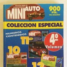 Hobbys: COLECCIÓN ESPACIAL MINI AUTO – 4º VOLUMEN – AÑO 1996. Lote 130190739