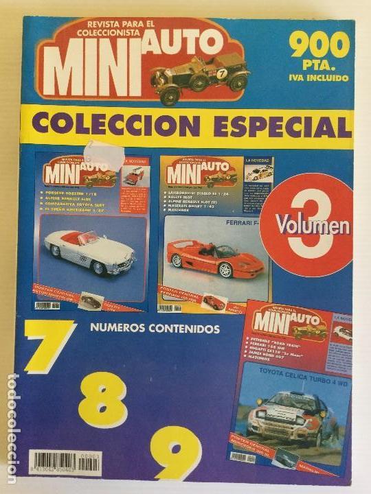 COLECCIÓN ESPACIAL MINI AUTO – 3º VOLUMEN – AÑO 1995 (Juguetes - Modelismo y Radiocontrol - Revistas)