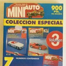 Hobbys: COLECCIÓN ESPACIAL MINI AUTO – 3º VOLUMEN – AÑO 1995. Lote 130190847