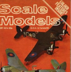 Hobbys: SCALE MODELS AÑO 1974 MAYO. Lote 130764344
