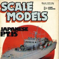 Hobbys: SCALE MODELS AÑO 1978 MARZO. Lote 130764736