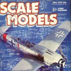 Hobbys: SCALE MODELS AÑO 1978 MAYO. Lote 130766148