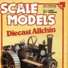 Hobbys: SCALE MODELS AÑO 1978 JUNIO. Lote 130766320