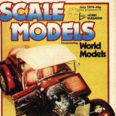 Hobbys: SCALE MODELS AÑO 1978 JULIO. Lote 130766580
