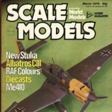 Hobbys: SCALE MODELS AÑO 1979 MARZO. Lote 130769284