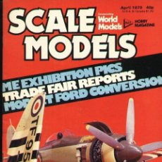 Hobbys: SCALE MODELS AÑO 1979 ABRIL. Lote 130769376