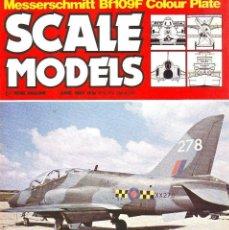 Hobbys: SCALE MODELS AÑO 1983 JUNIO. Lote 130825092