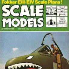 Hobbys: SCALE MODELS AÑO 1983 JULIO. Lote 130825236