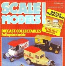 Hobbys: SCALE MODELS AÑO 1984 OCTUBRE. Lote 130894296