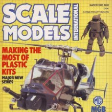 Hobbys: SCALE MODELS AÑO 1985 MARZO. Lote 130918108