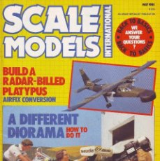 Hobbys: SCALE MODELS AÑO 1985 MAYO. Lote 130918424