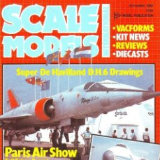 Hobbys: SCALE MODELS AÑO 1985 SEPTIEMBRE. Lote 130919260