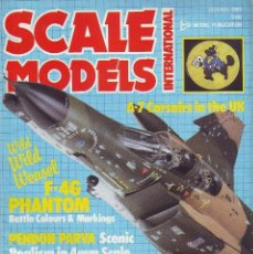 Hobbys: SCALE MODELS AÑO 1985 OCTUBRE. Lote 130919564