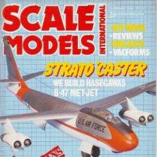 Hobbys: SCALE MODELS AÑO 1986 FEBRERO. Lote 130946376