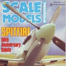 Hobbys: SCALE MODELS AÑO 1986 ABRIL. Lote 130946596