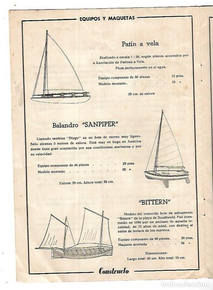 Hobbys: CONSTRUCTO. CATALOGO DE MINIATURA NAVAL. 1945. VER FOTOS DETALLADAMENTE - Foto 4 - 131477946