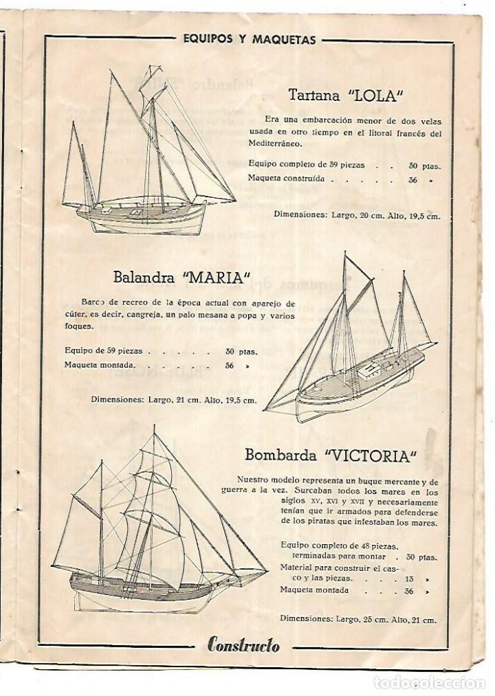 Hobbys: CONSTRUCTO. CATALOGO DE MINIATURA NAVAL. 1945. VER FOTOS DETALLADAMENTE - Foto 5 - 131477946